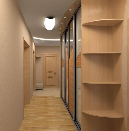 Дом  начинается с коридора