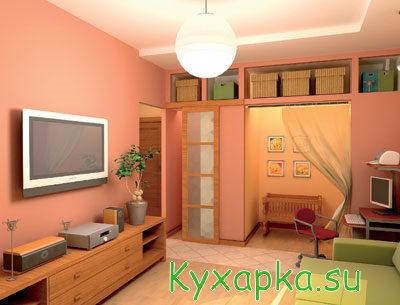 Дом: жилая комната