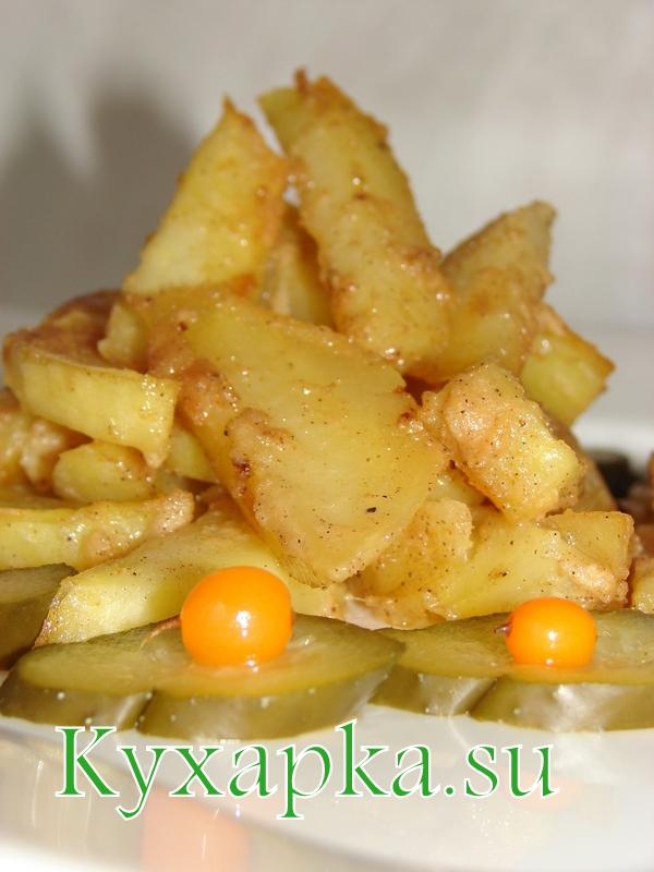 запекать картофель в духовке