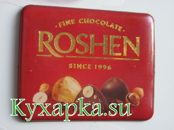 магнитики на холодильник - шоколад ROSHEN