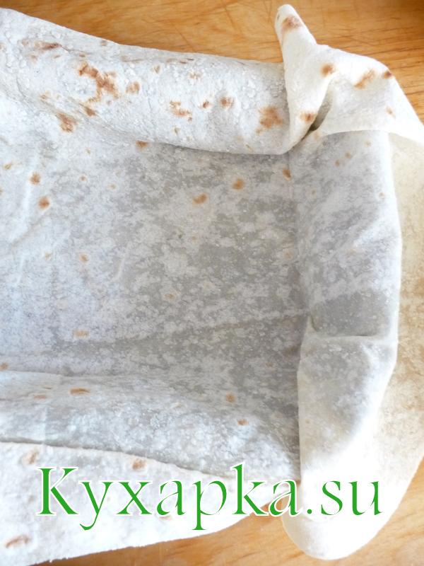 пирог мясной из лаваша - шаг 2