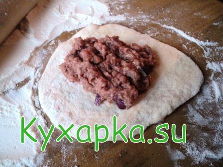 уральский пирожок с мясом