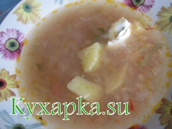 Обед за 24 гривны Первое блюдо – рассольник
