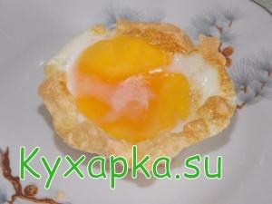 Запеченные яйца на завтрак