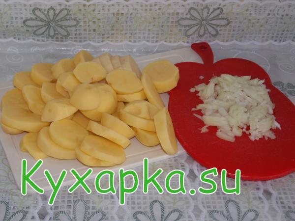 Запеканка картофельно-рыбная