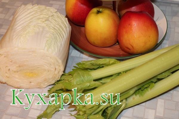 Фруктово-овощной витаминный коктейль