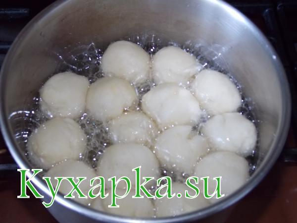 Творожные шарики очень вкусный рецепт