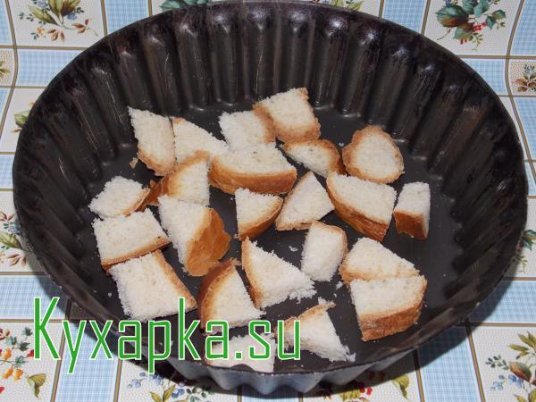 Как преобразовать хлеб черствый в сухари