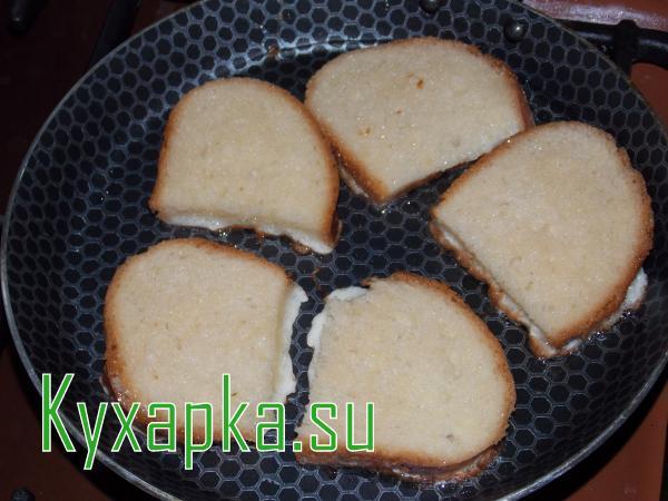 Как сделать гренки из черствого хлеба