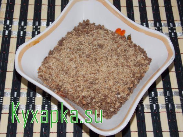 Как сделать сухари панировочные из черствого хлеба