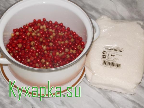 Готовим желе из красной смородины на зиму