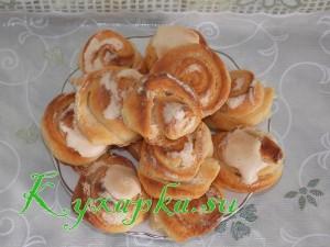 Печенье творожное Розочки