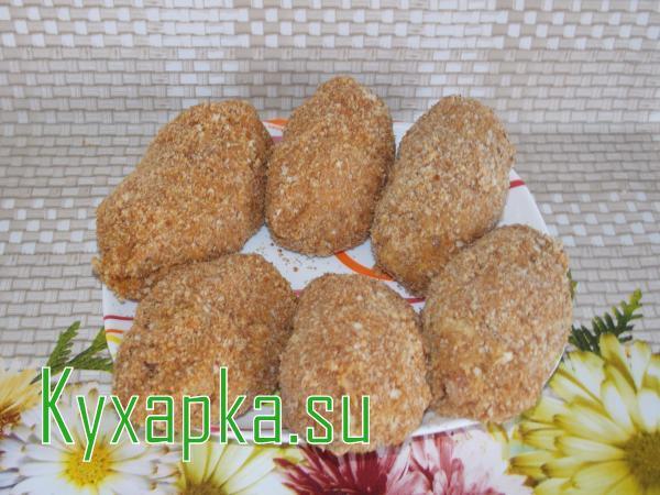 Котлеты по киевски рецепт с фото