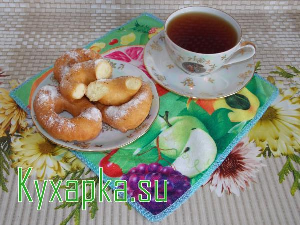 Творожные пончики рецепт с фото к чаю