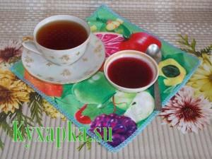 Желе из черной смородины к чаю на завтрак
