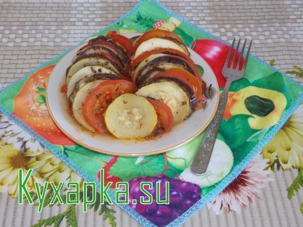 Как готовить рататуй рецепт с фото