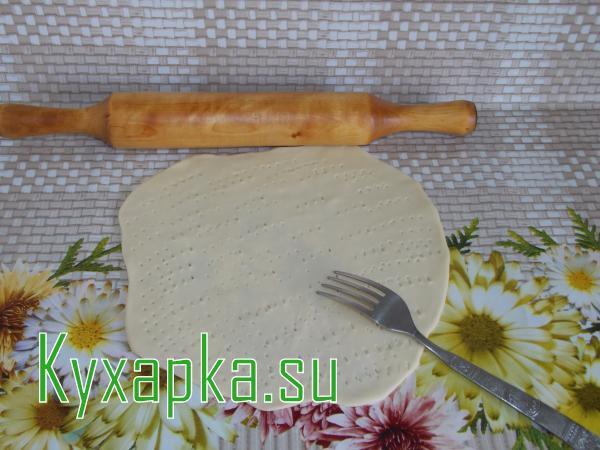 Кыстыбый с картофельным пюре