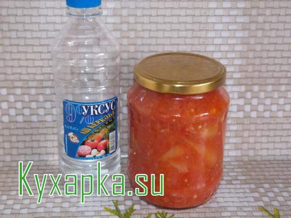 Сладкий перец в томате