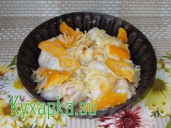 Крылышки в апельсиновом маринаде