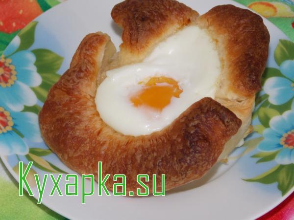 Яйца по-русски на завтрак