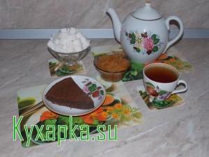 Шоколадно-ореховый кекс Алешка