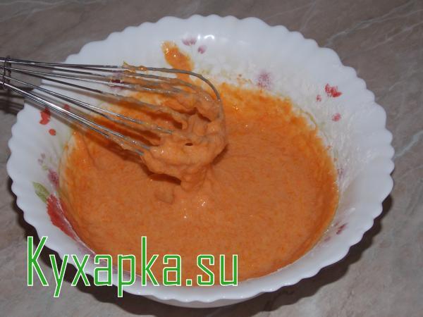 Торт: морковный