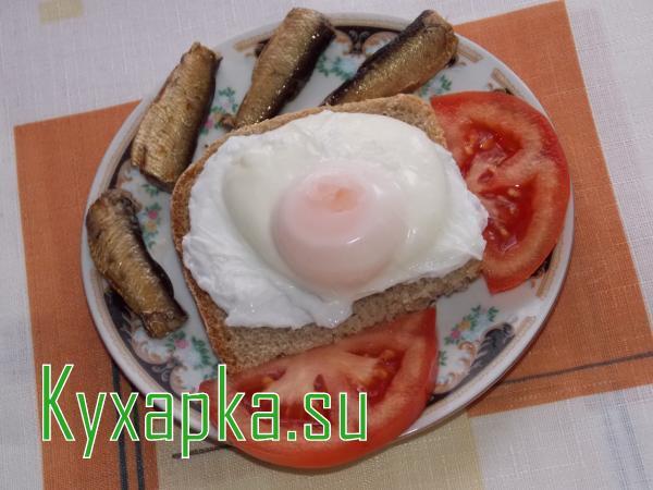 Яйцо-пашот на завтрак