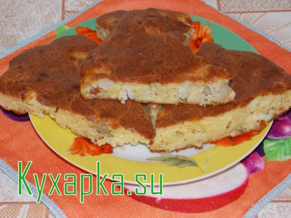 Пирог рыбный