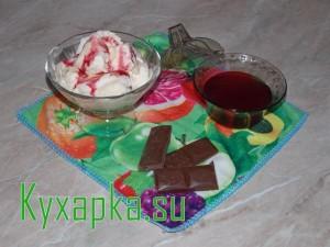 Сливочно-ванильное мороженое
