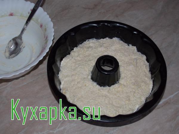Запеканка творожная с рисом