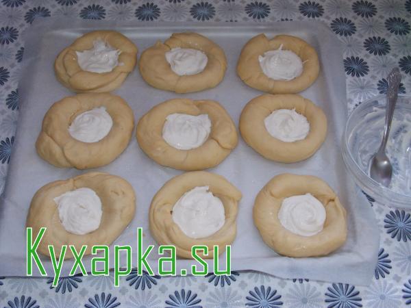 Домашние сметанники: шанежки рецепт с фото