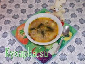 Геркулесовый суп: рецепт с мясным фаршем