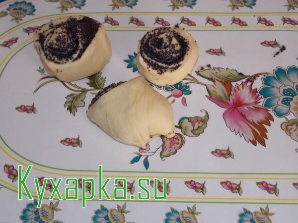 Сладкие булочки на сыворотке
