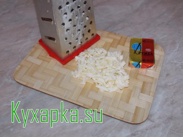 Сырный супчик