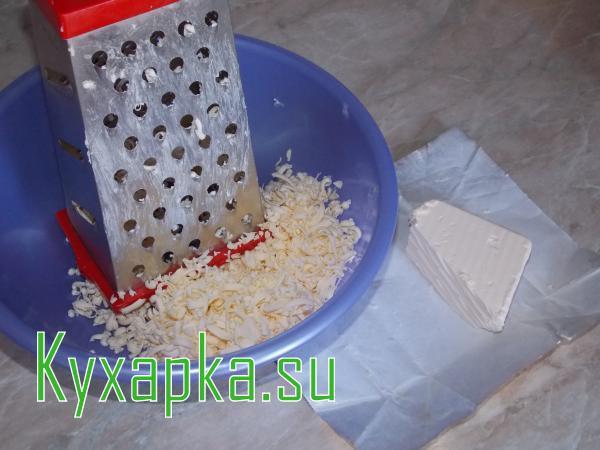 Плацинды с творогом и сыром