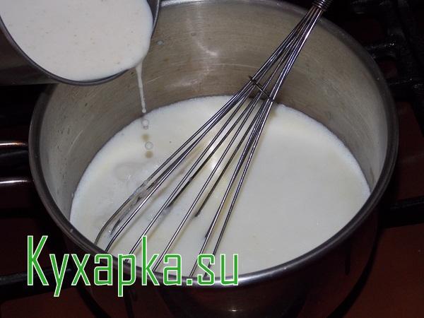 Манная каша на молоке
