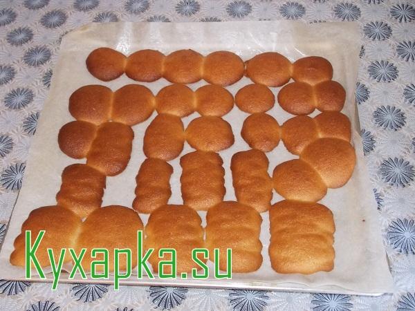 Нежное майонезное печенье