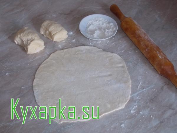 Плацинды с творогом и сыром, Блюда по-домашнему с фото по шагам рецепта