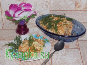Салат из капусты в зимнее время