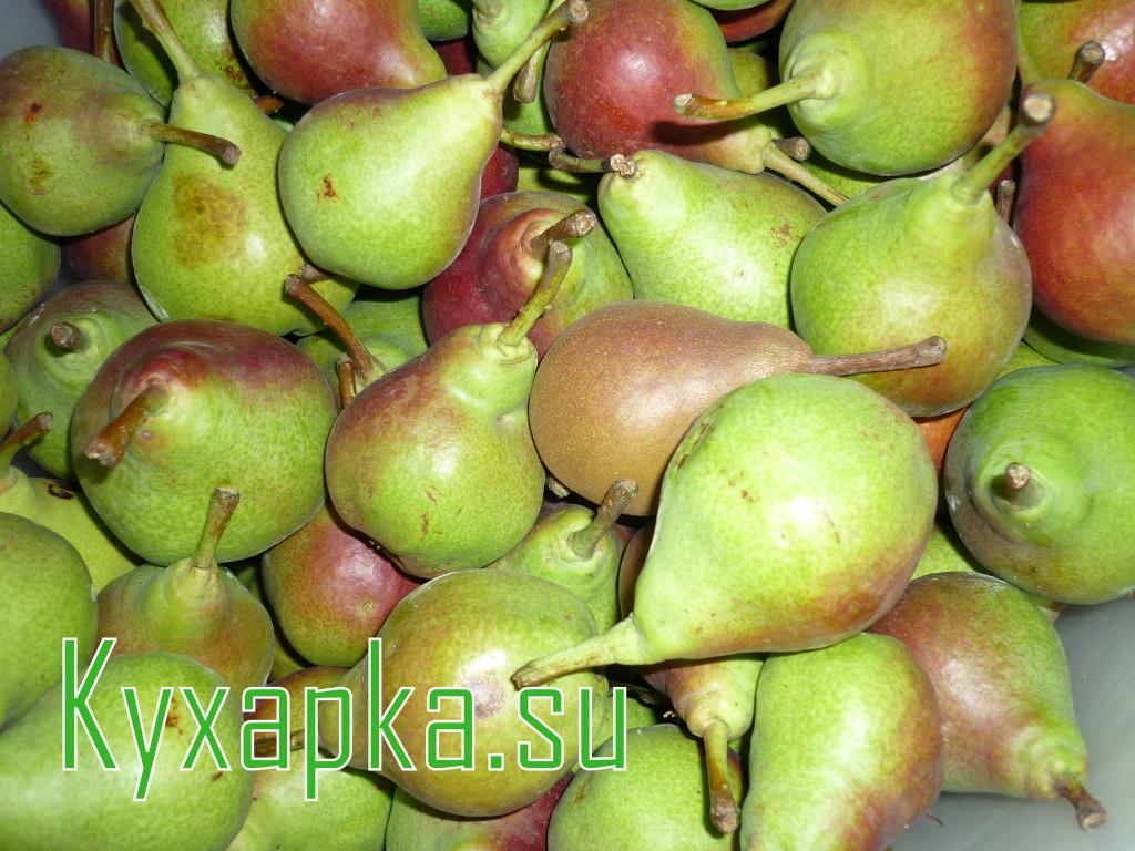 Как заготовить летний растительный чай на даче из груши и яблока