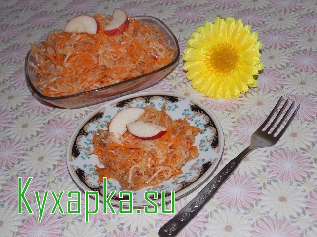Салат из репы