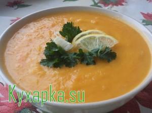 Тыквенный суп с кукурузой на Kyxapka.su