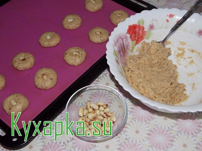 Овсяное печенье с орехами на Kyxapka.su