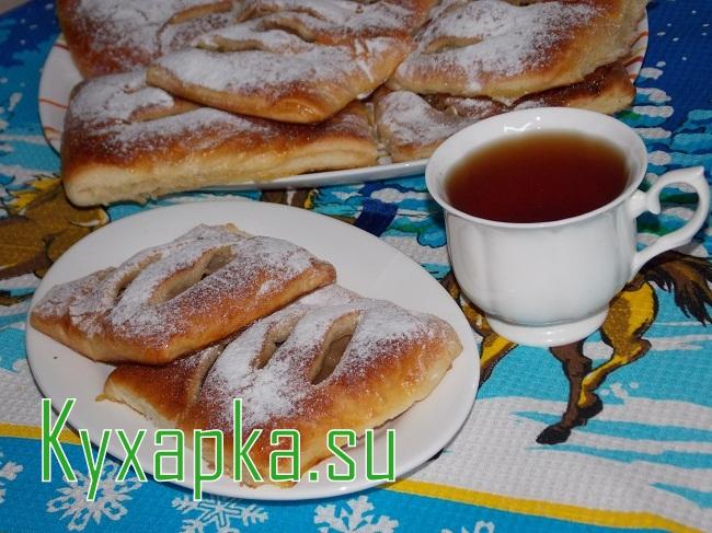 Слойка с яблоками на Kyxapka.su