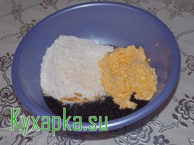 Выпечка с маком: апельсиновый маковник на Kyxapka.su