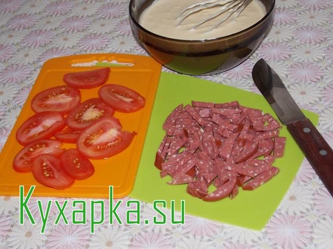 Быстрая пицца на сковороде на Kyxapka.su в новый год