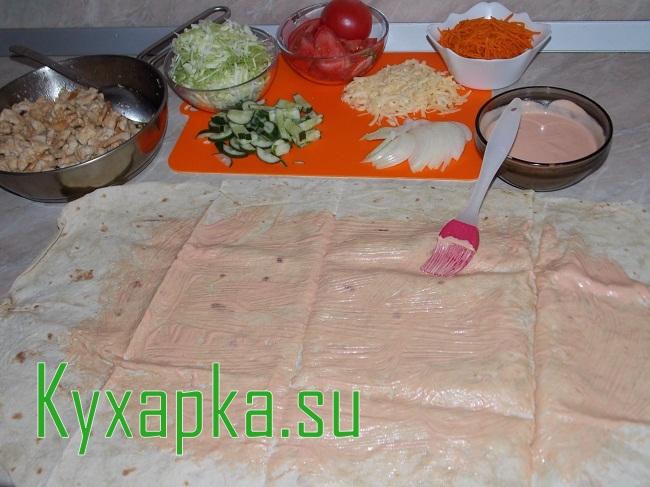 Как в домашних условиях сделать: Шаурма на Kyxapka.su