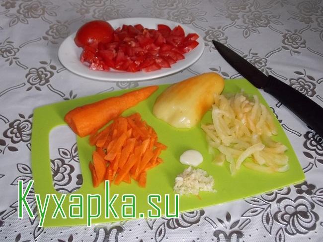 Стручковая фасоль с мясом на Kyxapka.su