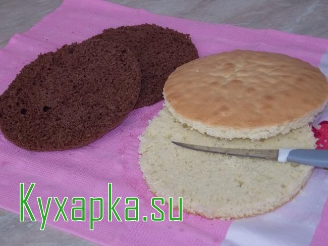 Бисквитный торт на воскресенье 8 марта на Kyxapka.su