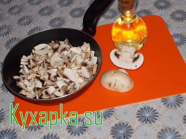 Кабачки фаршированные: рис, грибы и овощи на Kyxapka.su
